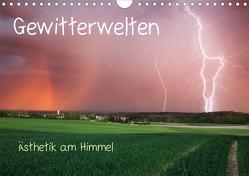 Gewitterwelten (Wandkalender 2020 DIN A4 quer) von Eggert,  Daniel
