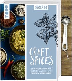 Gewürzmanufaktur Craft Spices. Buch mit Messlöffel-Set von Harth,  Gesine, Iburg,  Anne
