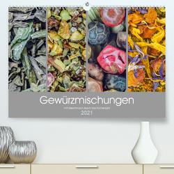 Gewürzmischungen – mit Geschmack durch das Küchenjahr (Premium, hochwertiger DIN A2 Wandkalender 2021, Kunstdruck in Hochglanz) von Vlcek,  Gerhard