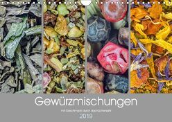 Gewürzmischungen – mit Geschmack durch das Küchenjahr (Wandkalender 2019 DIN A4 quer) von Vlcek,  Gerhard