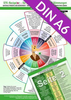 GFK-Navigator für Gefühle, Emotionen und Stimmungen (2017) Pocket Edition (DINA6 Format für die Hosentasche) von Cremer,  Samuel, Schumacher,  Christian