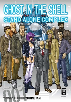 Ghost in the Shell – Stand Alone Complex 01 von Kinutani,  Yu, Production I.G., Schmitt-Weigand,  John