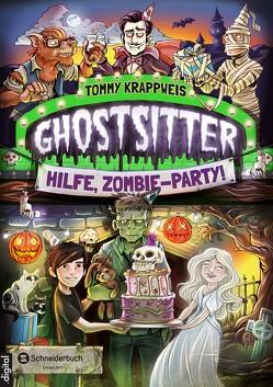 Ghostsitter, Band 03 von Grubing,  Timo, Krappweis,  Tommy