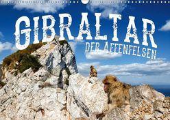 Gibraltar – der Affenfelsen (Wandkalender 2019 DIN A3 quer)