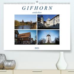 Gifhorn entdecken (Premium, hochwertiger DIN A2 Wandkalender 2021, Kunstdruck in Hochglanz) von SchnelleWelten