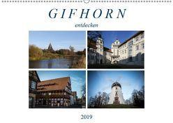 Gifhorn entdecken (Wandkalender 2019 DIN A2 quer) von SchnelleWelten