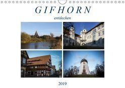 Gifhorn entdecken (Wandkalender 2019 DIN A4 quer) von SchnelleWelten