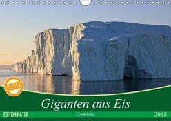Giganten aus Eis 2018 (Wandkalender 2018 DIN A4 quer) von Bommer,  Monika