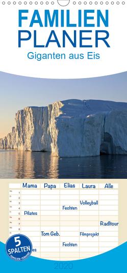 Giganten aus Eis 2020 – Familienplaner hoch (Wandkalender 2020 , 21 cm x 45 cm, hoch) von Bommer,  Monika
