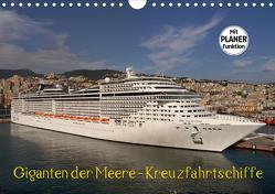 Giganten der Meere – Kreuzfahrtschiffe (Wandkalender 2021 DIN A4 quer) von Gayde,  Frank