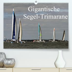 Gigantische Segel-Trimarane (Premium, hochwertiger DIN A2 Wandkalender 2021, Kunstdruck in Hochglanz) von Sieveke (World-of-Powerboat.de),  Sven