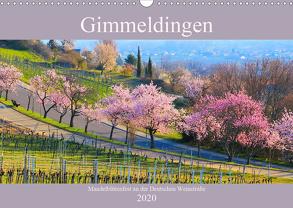 Gimmeldingen – Mandelblütenfest an der Deutschen Weinstraße (Wandkalender 2020 DIN A3 quer) von LianeM