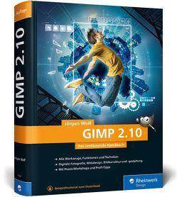 GIMP 2.10 von Wolf,  Jürgen