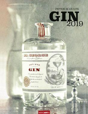 Gin – Kalender 2019 von Schulte,  Peter, Weingarten