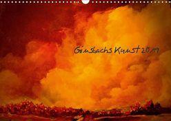 Ginsbachs Kunst 2019 (Wandkalender 2019 DIN A3 quer)