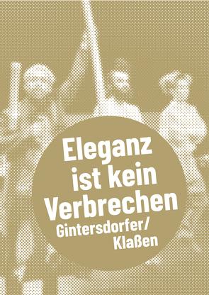Gintersdorfer/Klaßen von Tiedemann,  Kathrin