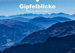 Gipfelblicke – Bilder aus den Kärntner Bergen (Posterbuch DIN A3 quer) von Wunderlich,  Simone