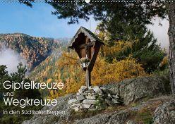 Gipfelkreuze und Wegkreuze in den Südtiroler Bergen (Wandkalender 2019 DIN A2 quer) von Niederkofler,  Georg