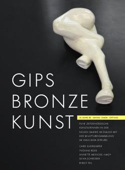 Gips Bronze Kunst von Bopp-Schumacher,  Ute