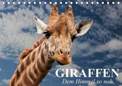 Giraffen. Dem Himmel so nah (Tischkalender 2019 DIN A5 quer) von Stanzer,  Elisabeth