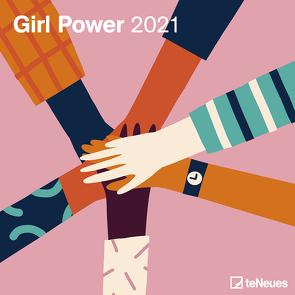 Girl Power 2021 – Wand-Kalender – Broschüren-Kalender – 30×30 – 30×60 geöffnet – Frauen