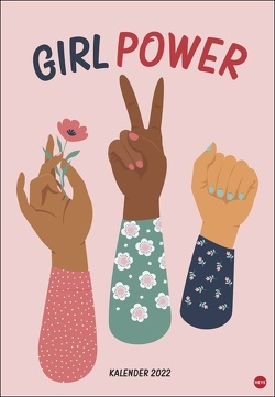 Girl Power Posterkalender 2022 von Heye