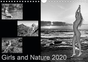 Girls and Nature (Wandkalender 2020 DIN A4 quer) von Columbus Bagyura,  Reinhard