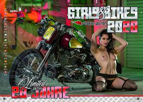 Girls & Bikes 2020 von Neubert,  Jörg