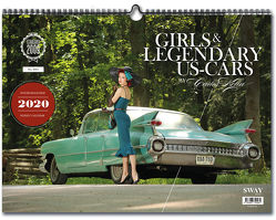Girls & legendary US-Cars 2020 von Kella,  Carlos