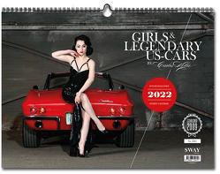 Girls & legendary US-Cars 2022 von Kella,  Carlos