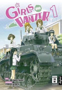 Girls und Panzer 01 von Saitaniya,  Ryouichi, Seisaku Iinkai, Steinle,  Christine
