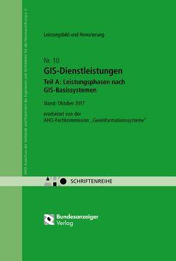 GIS-Dienstleistungen – Teil A: Leistungsphasen nach GIS-Basissystemen