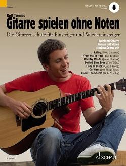Gitarre spielen ohne Noten von Tönnes,  Rolf