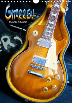 Gitarren backstage (Wandkalender 2020 DIN A4 hoch) von Bleicher,  Renate