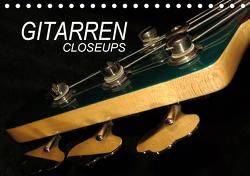 GITARREN Closeups (Tischkalender 2021 DIN A5 quer) von Bleicher,  Renate
