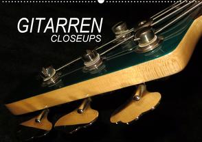 GITARREN Closeups (Wandkalender 2020 DIN A2 quer) von Bleicher,  Renate