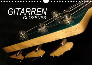 GITARREN Closeups (Wandkalender 2020 DIN A4 quer) von Bleicher,  Renate