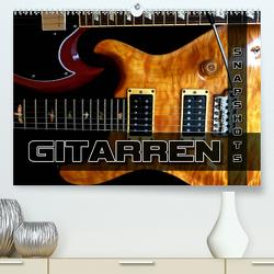 Gitarren Snapshots (Premium, hochwertiger DIN A2 Wandkalender 2020, Kunstdruck in Hochglanz) von Bleicher,  Renate