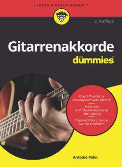 Gitarrenakkorde für Dummies von Fehn,  Oliver, Polin,  Antoine A.