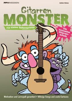 Gitarrenmonster – Für kleine Saitenflitzer von Achim,  Göres