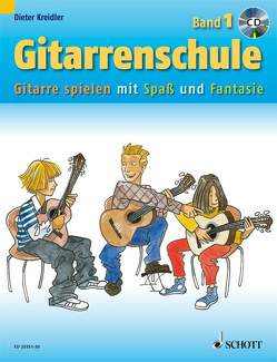 Gitarrenschule von Kreidler,  Dieter, Schürmann,  Andreas