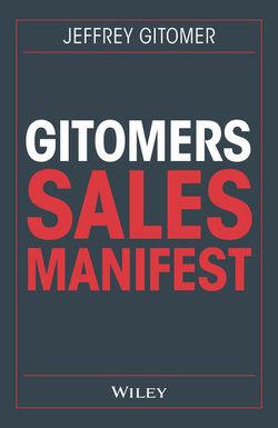 Gitomers Sales-Manifest von Gitomer,  Jeffrey, Reit,  Birgit