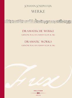 Giunone placata Fux WV II.2.19 (K 316) von Fux,  Johann Joseph, Rausch,  Alexander