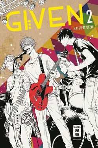 Given 02 von Kizu,  Natsuki, Peter,  Claudia