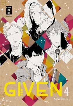 Given 04 von Kizu,  Natsuki, Peter,  Claudia