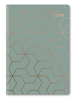 GlamLine Booklet Diary JADE | COPPER 2019