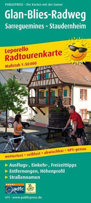 Glan-Blies-Radweg, Sarreguemines – Staudernheim