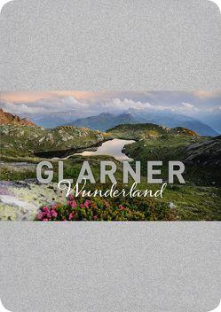 Glarner Wunderland Postkartenbox von Rhyner,  Maya