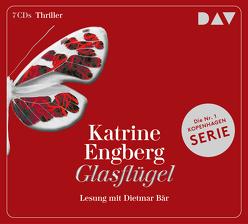 Glasflügel. Ein Kopenhagen-Thriller von Bär,  Dietmar, Engberg,  Katrine, Sonnenberg,  Ulrich