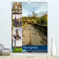 Glasgow Necropolis (Premium, hochwertiger DIN A2 Wandkalender 2020, Kunstdruck in Hochglanz) von Creutzburg,  Jürgen